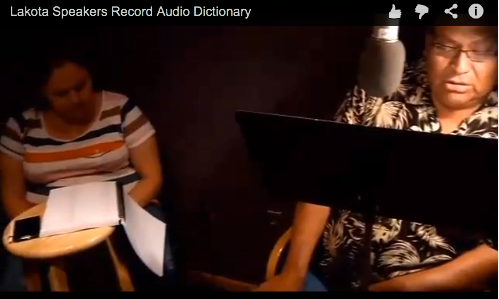 record audio dictionary