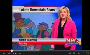lakota bear on news