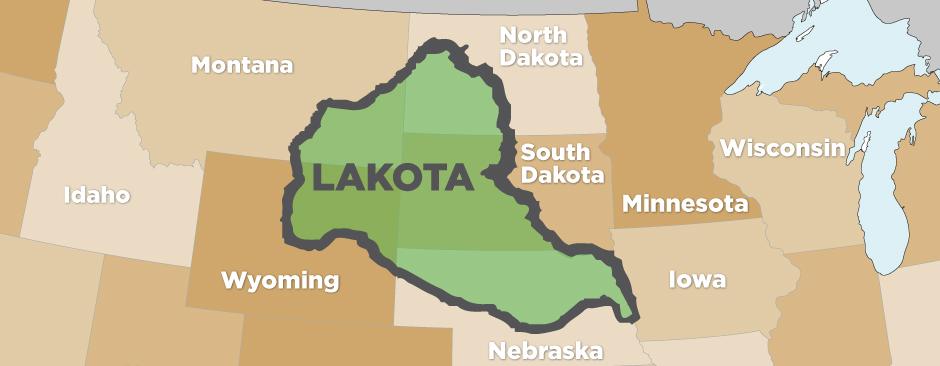 Lakota-Map