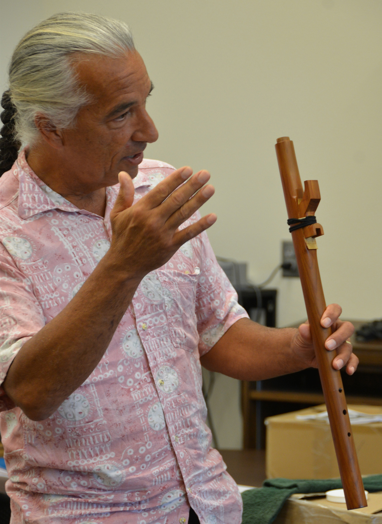 Kevin Locke, Indigenous American Flute elder, teacher, performer