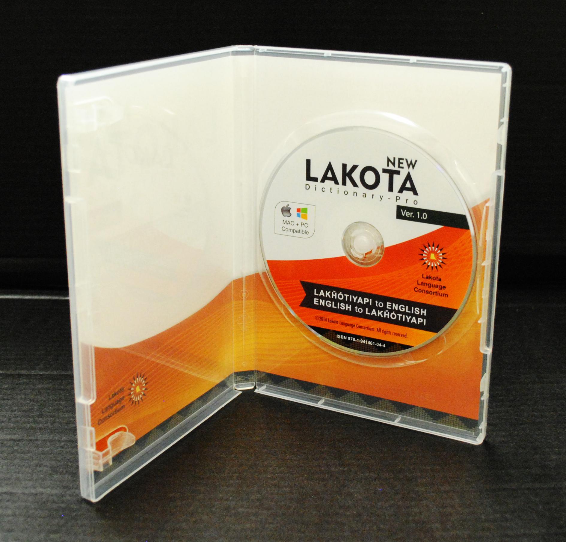 Lakota Language Consortium NLD-Pro Now Available in DVD